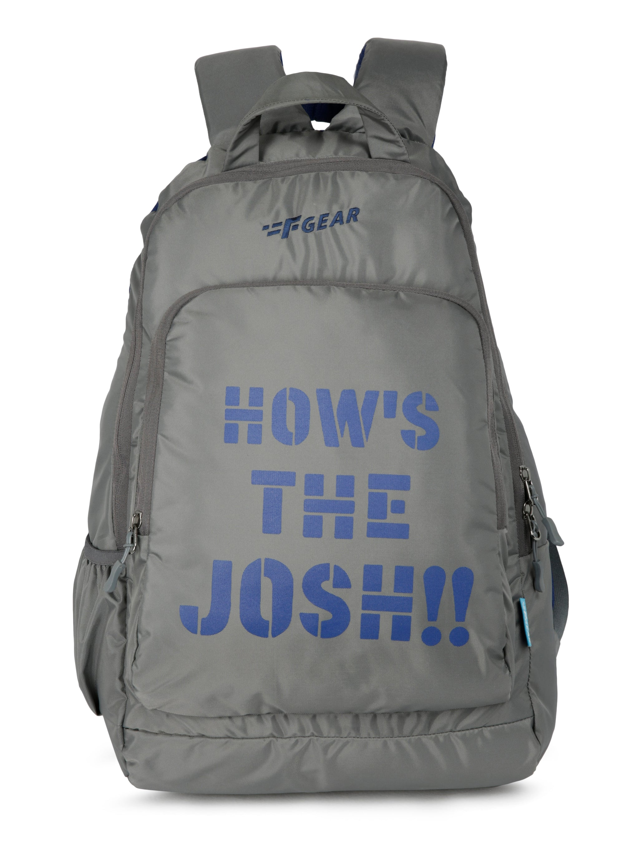F Gear Josh 30 Ltrs Nb Grey Casual Backpack (3154))