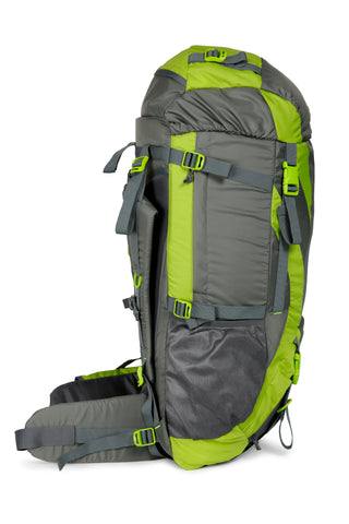 F Gear Penny 75 Ltrs Green Gry Rucksack with Rain Cover (3210)