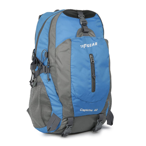 F Gear Capiche 40 Ltrs Royal Blue Grey Rucksack (3135)