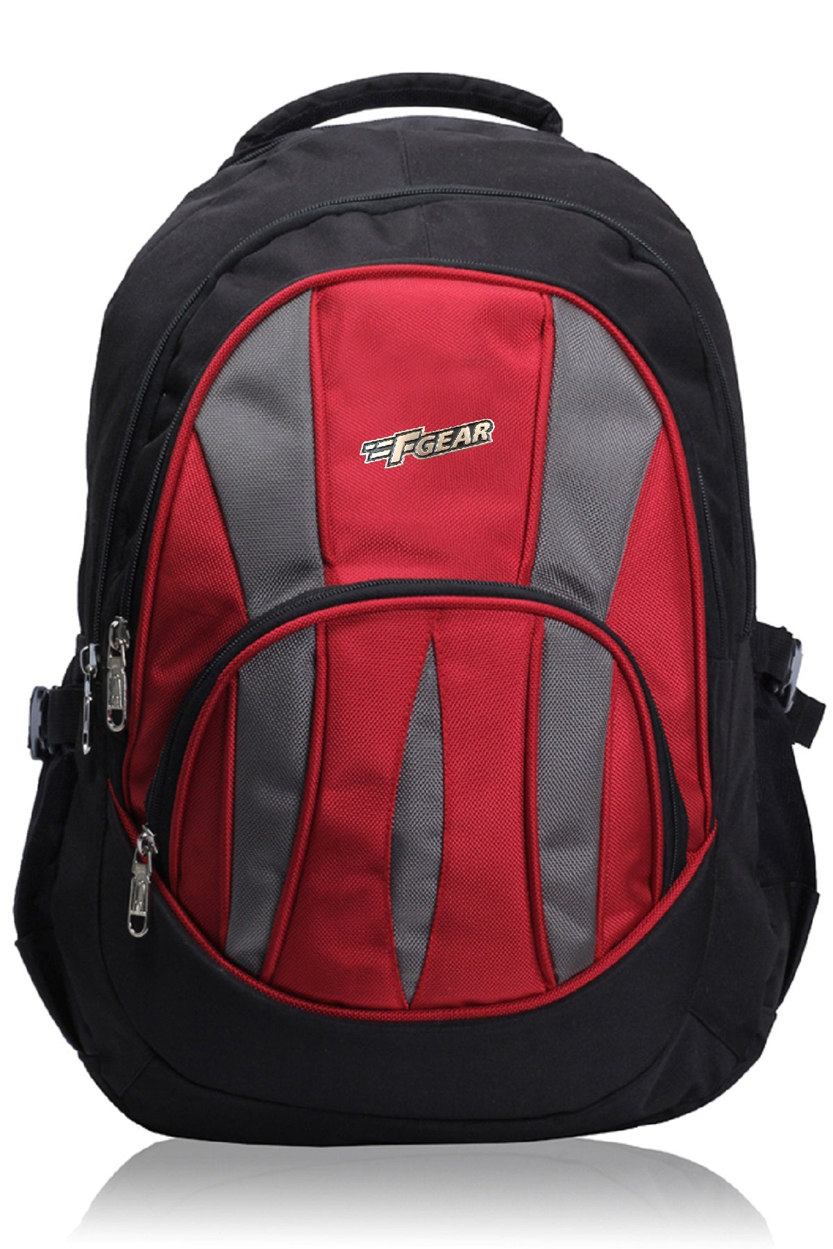 F Gear Adios 32 Ltrs Red Casual Laptop Backpack (1856)
