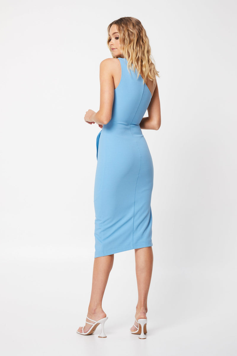 The Sun Rays Dress - Blue