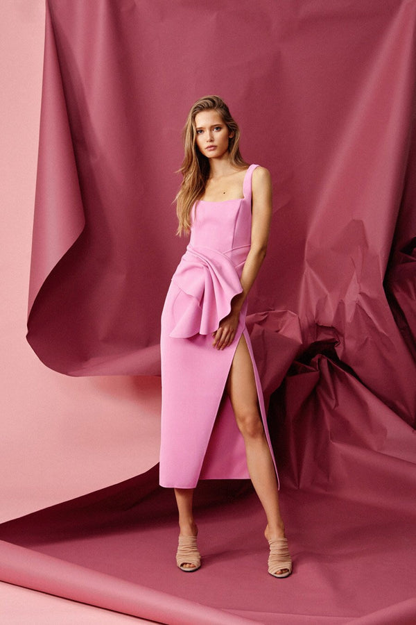 Habana Dress - Pop Pink