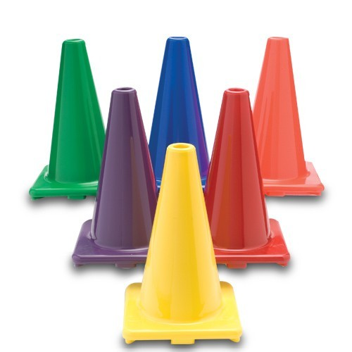 Cone 6'' set of 5 (Color may very)
