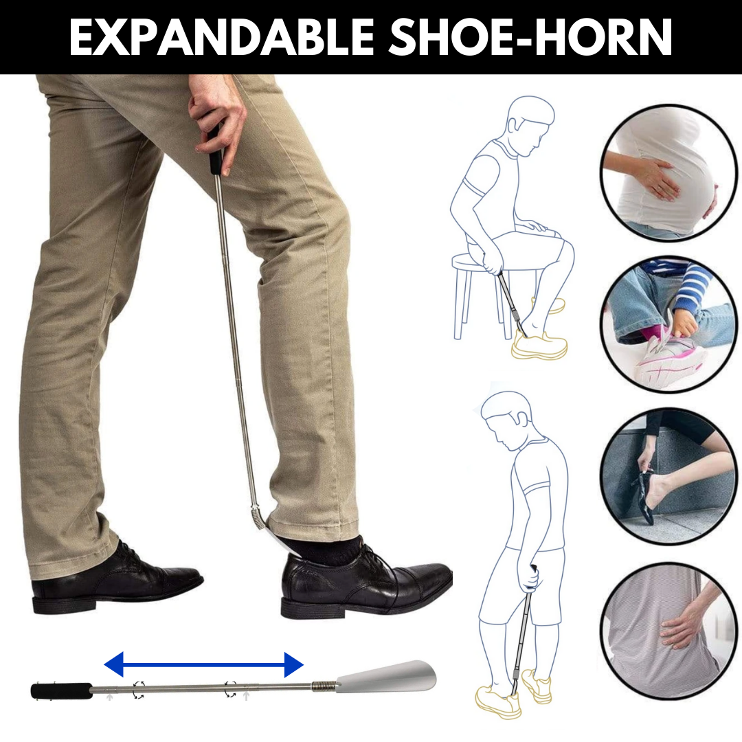 Expandable Shoe Horn