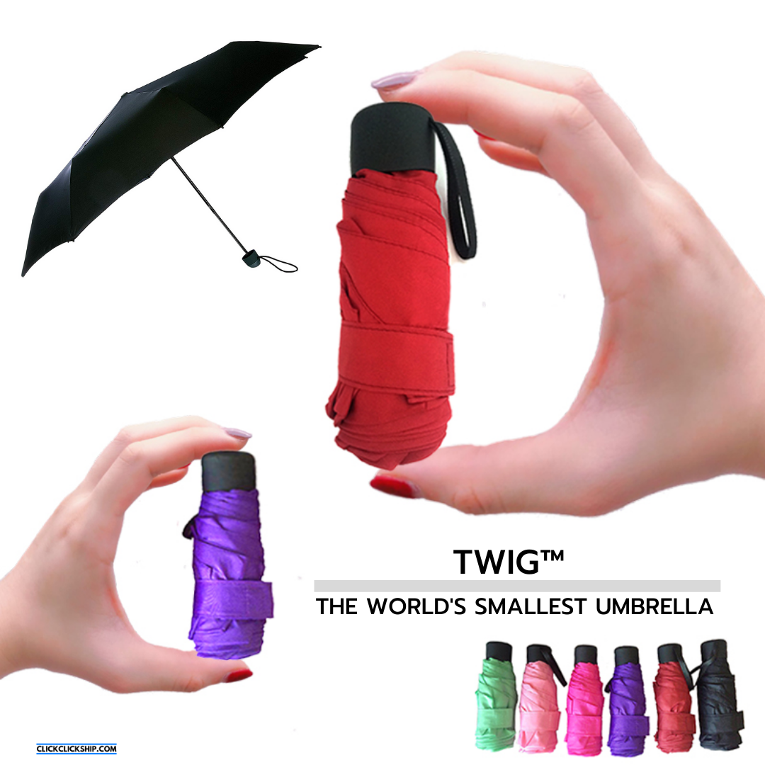 Twig™ - The World's Smallest Pocket Umbrella