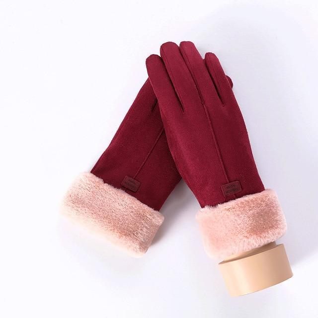 Women's Gloves For Touch Screen A Black ClickClickShip.com