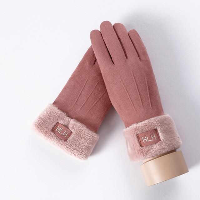 Women's Gloves For Touch Screen B Pink ClickClickShip.com