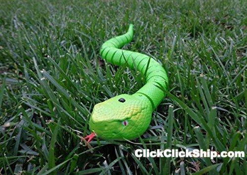 Remote Control Toy Snake Black / Buy 1 ClickClickShip.com