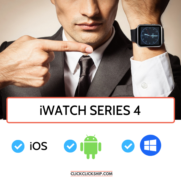 iWatch Series 4 Black ClickClickShip.com
