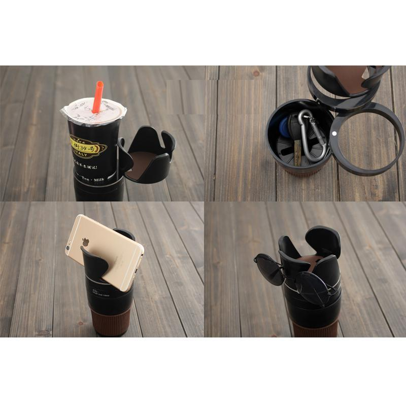 Multi Cup Holder Black ClickClickShip.com