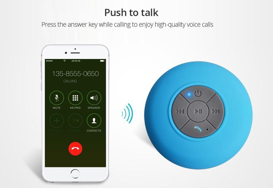Waterproof Bluetooth Speaker | BUY 2 GET 1 FREE Black ClickClickShip.com