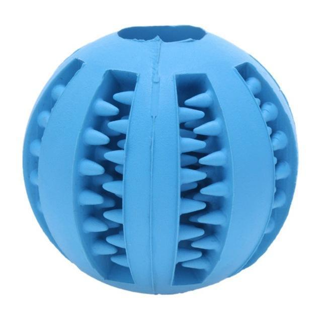 Pet Rubber Ball Blue / 5cm / Buy 1 GET 50% Off ClickClickShip.com