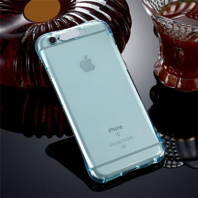 iPhone LED Flash Case Blue / For iPhone 5 5S SE ClickClickShip.com