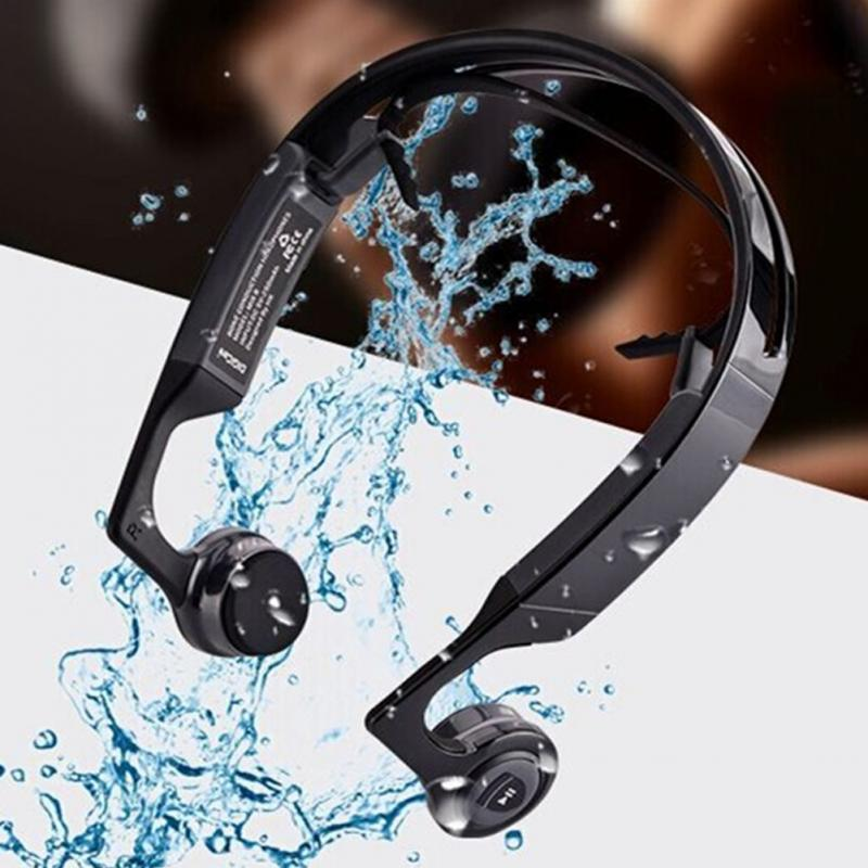 Bone Conduction Wireless Bluetooth Headphones ClickClickShip.com