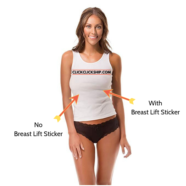 Breast Lift Sticker 30 pieces Get 50% Off 30 pieces = 15 pairs ClickClickShip.com