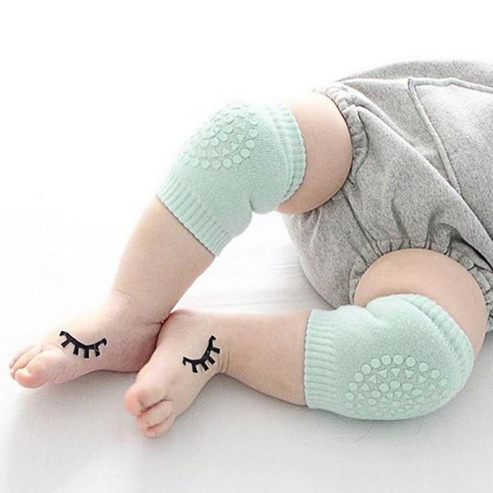 Baby Safety Knee Pads Green ClickClickShip.com