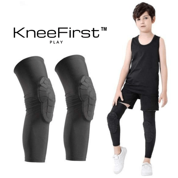 KneeFirst™ - Kids Padded Knee Sleeve Pair