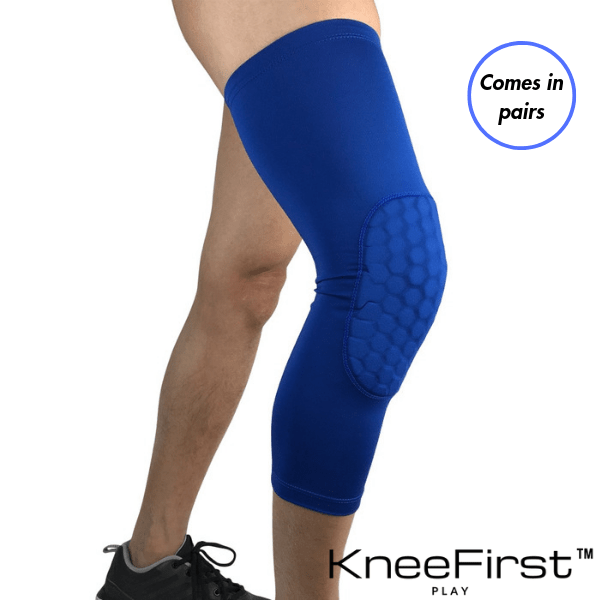 KneeFirst™ - Padded Knee & Shin Sleeve Pair KneeFirst™