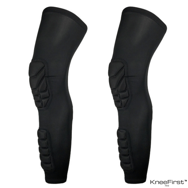 KneeFirst™ - Padded Knee & Shin Sleeve Pair