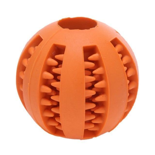 Pet Rubber Ball Orange / 5cm / Buy 1 GET 50% Off ClickClickShip.com