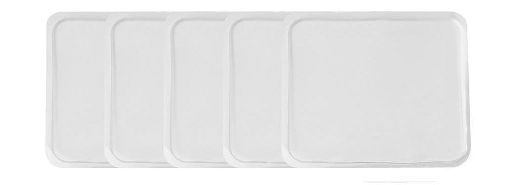 Reusable Sticky Gel Pad Pack of five gel pads ClickClickShip.com