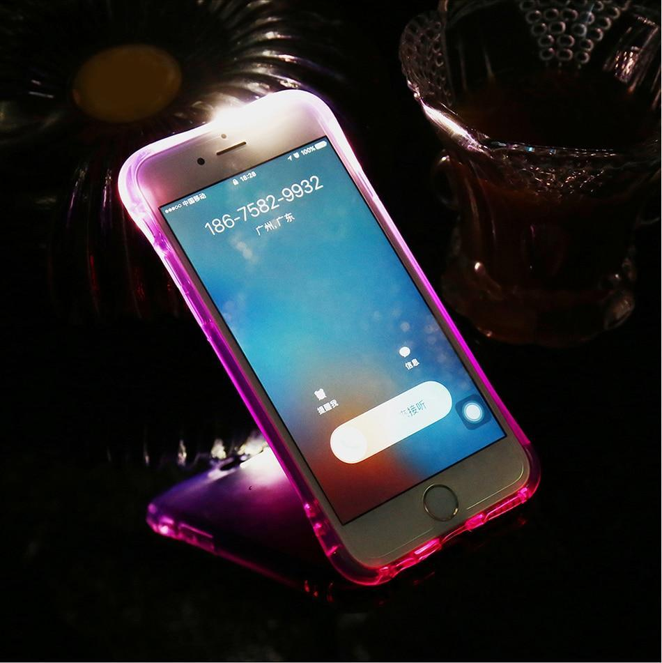 iPhone LED Flash Case Pink / For iPhone 5 5S SE ClickClickShip.com