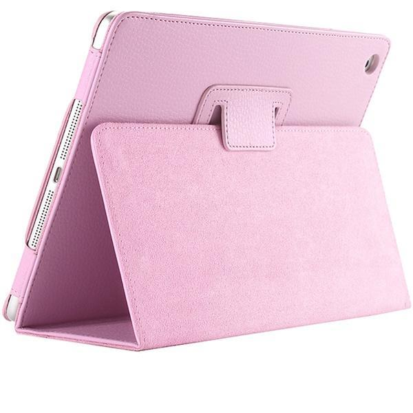 "iPad 2/ 3/ 4/ PU Leather Cover Smart Stand Holder Folio Case for 9.7""inch Screen Pink ClickClickShip.com"