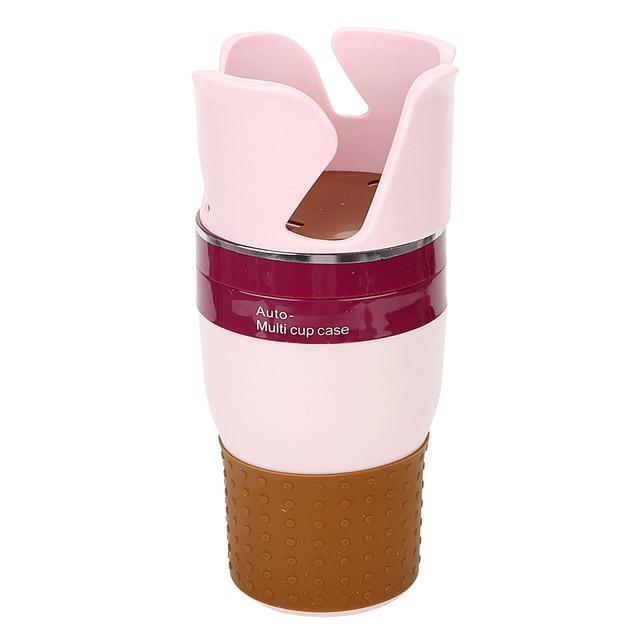 Multi Cup Holder Pink ClickClickShip.com