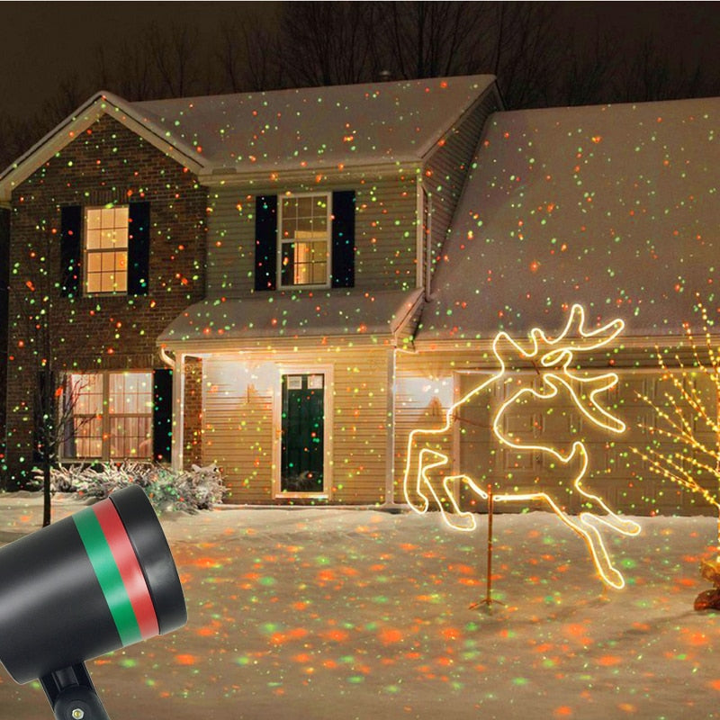 Christmas Laser Projector