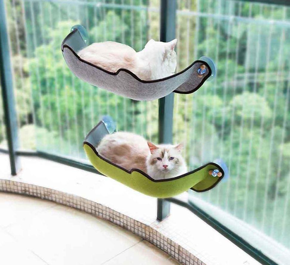 Cat Window Hammock Bed