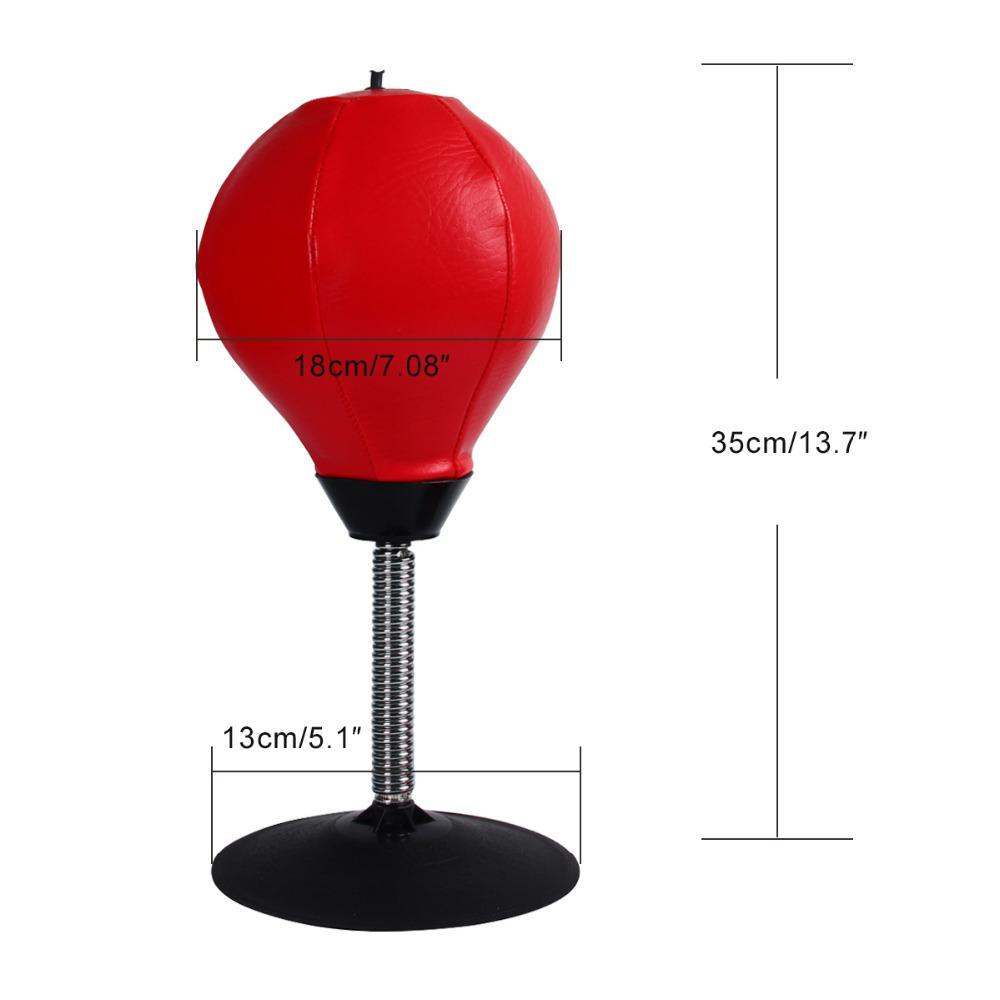 Desktop Punching Bag - BUY 1 GET 2nd FOR 20% OFF! Red ClickClickShip.com