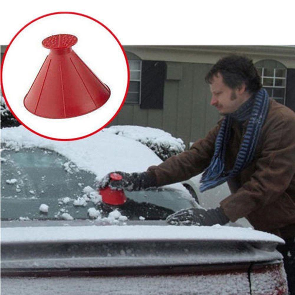 Magic Cone Ice Scraper Red ClickClickShip.com