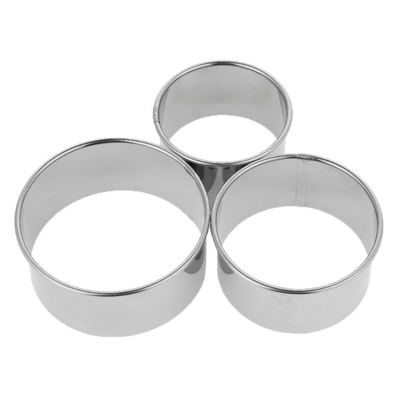 Stainless Steel Cookie Mold 3pc set ClickClickShip.com