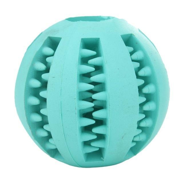 Pet Rubber Ball Turquoise / 5cm / Buy 1 GET 50% Off ClickClickShip.com