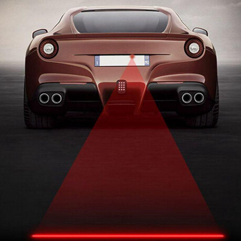 LED Laser Fog Lights Type 4 - Straight Line ClickClickShip.com