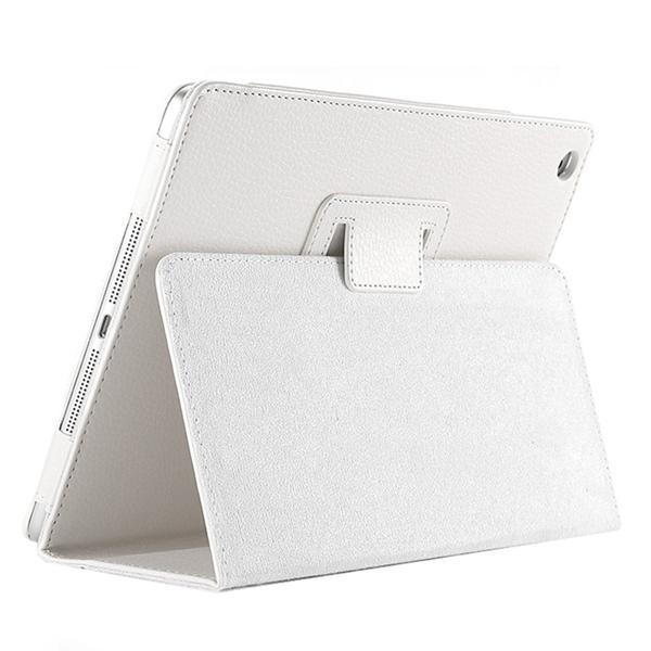 "iPad 2/ 3/ 4/ PU Leather Cover Smart Stand Holder Folio Case for 9.7""inch Screen White ClickClickShip.com"