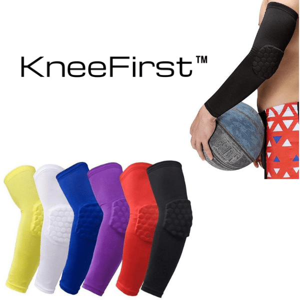KneeFirst™ - Elbow Padded Sleeve Pair