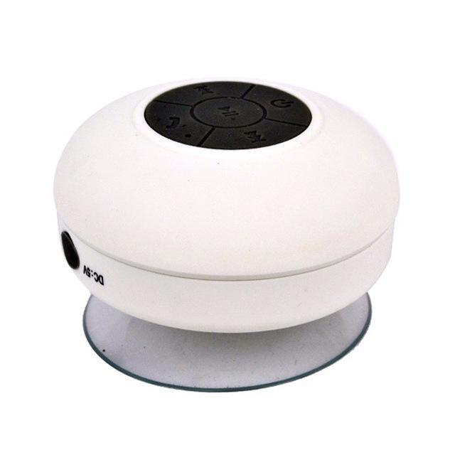 Waterproof Bluetooth Speaker | BUY 2 GET 1 FREE White ClickClickShip.com