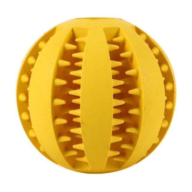 Pet Rubber Ball Yellow / 5cm / Buy 1 GET 50% Off ClickClickShip.com