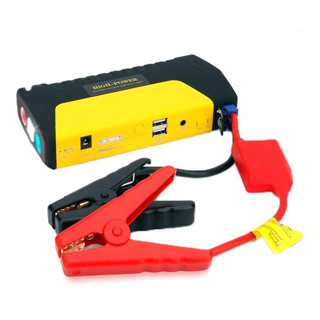 Multi Use Portable Mini Emergency 12v Car Battery Jump Starter/ Electronics Power Bank Charger Yellow / China ClickClickShip.com