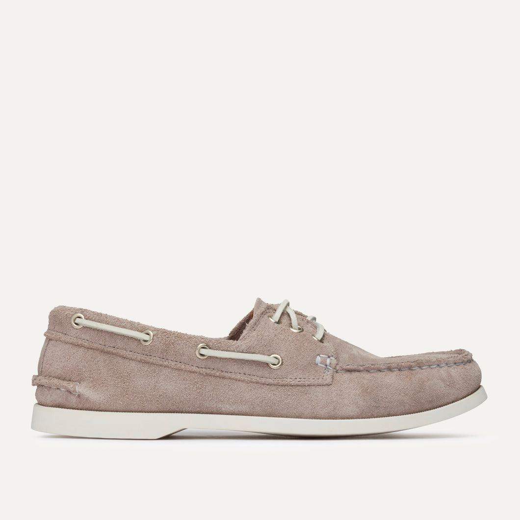 Downeast Boat - Grey Suede
