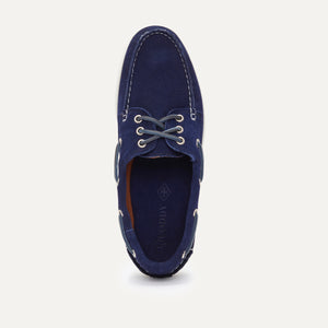 Downeast Boat - Navy Suede