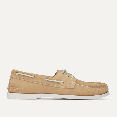 Downeast Boat - Sand Suede