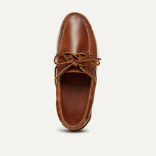 Downeast Boat Shoe - Whiskey