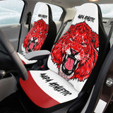 Fundas Asiento de coche del Athletic (2 Piezas)-cabeza de leon Aupa Athletic - Camisetas Del Athletic