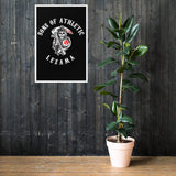 Póster en papel mate con marco del Athletic-Sons Of Athletic - Camisetas Del Athletic