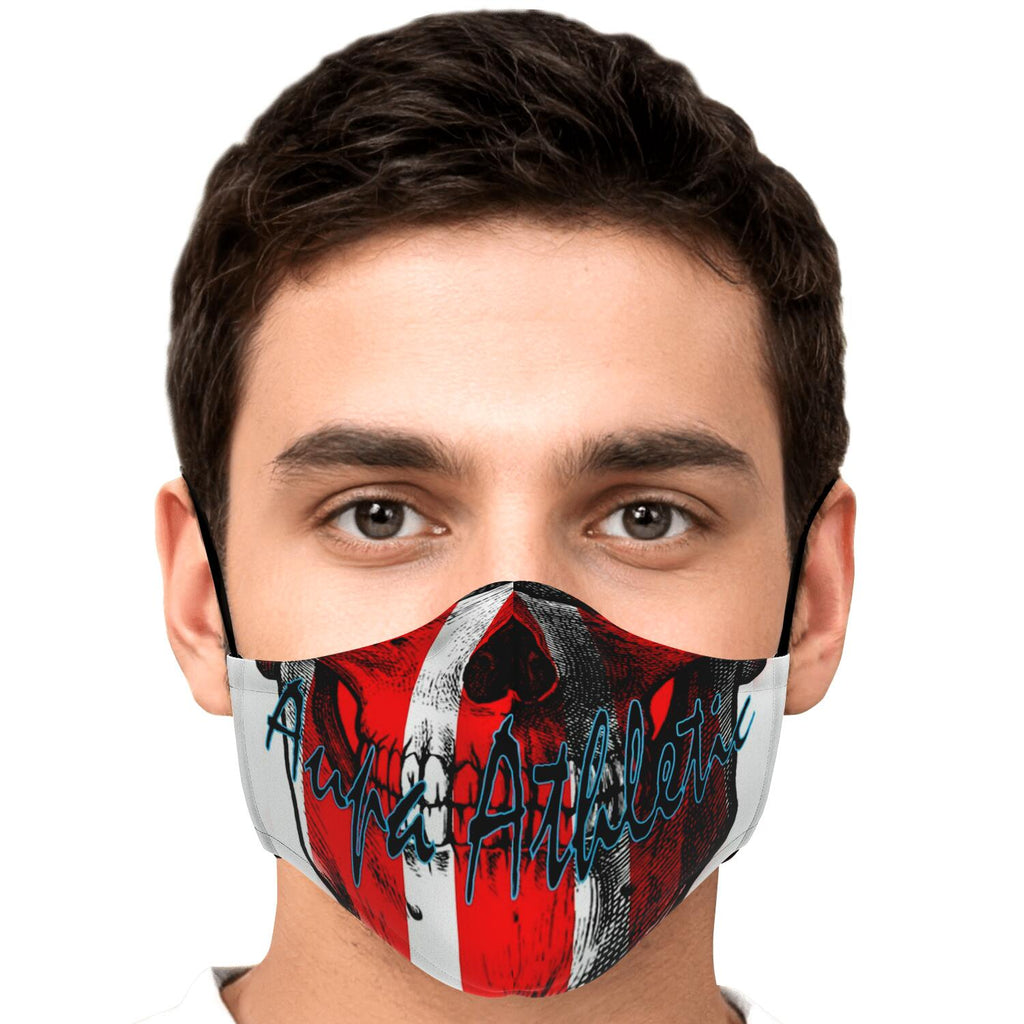 Protector Fashion-Calavera Aupa Athletic-rojiblanca