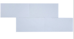 Thassos White Marble 6x12 Subway Tile From Greece - Budget Marble