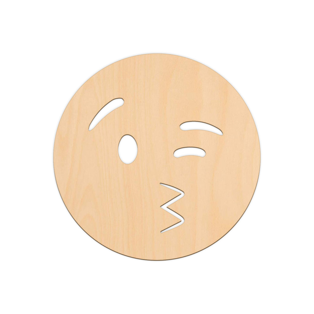 Blowing A Kiss Face Emoji - 25cm x 25cm