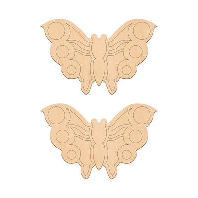 Butterfly B - 14.8cm x 10.3cm - Wooden Shapes